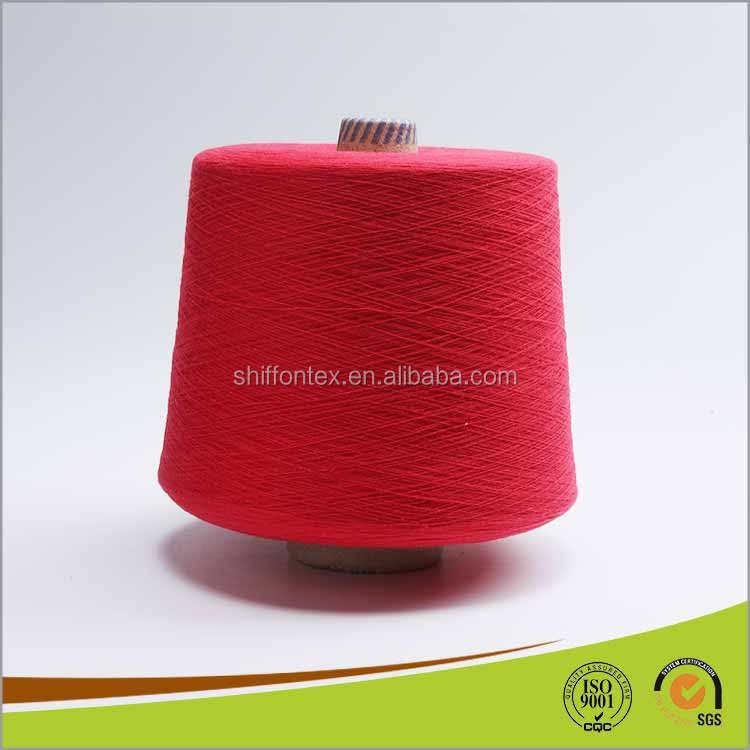 Vente chaude pour Chaussettes Machine 100% Coton Flammé Fil