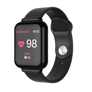 2020 New Arrivals CE Rohs Cheap Heart Rate Wrist Blood Pressure Smart Watch Ladies