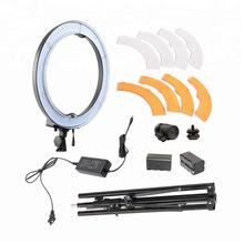 photographic lighting 18 inch beauty lamp 55W neewer selfie ring light led