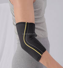Black Neoprene Elbow Sleeve for  CE, FDA elbow & knee pads