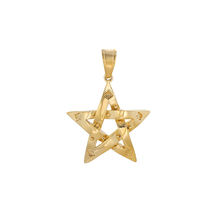 pendant-110 xuping fashion pendant latest design 24K gold color  Elegant Pentagram