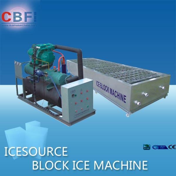 Простое управление Блок льда машина для свежего учета