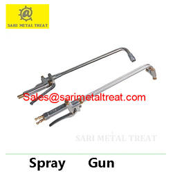 Spray gun for diecasting forging mold release agent