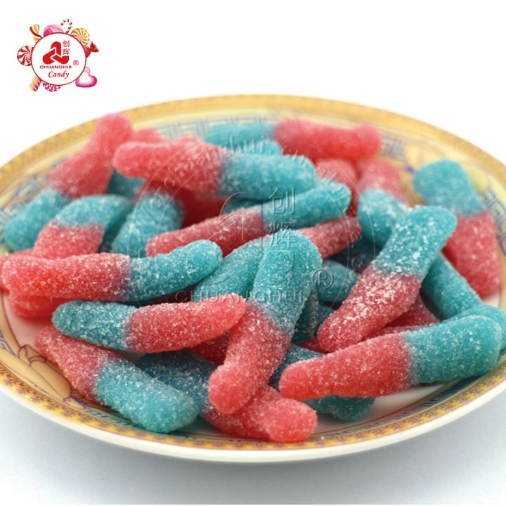 Bulk Packing Gummy Candy, Sour Cola Soft Candy In Bulk