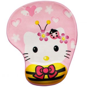Custom Cute Printing Non-slip Gaming Wrist Rest Mouse Pad