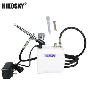 High-end Professional portable hot sale make up air brush kit
