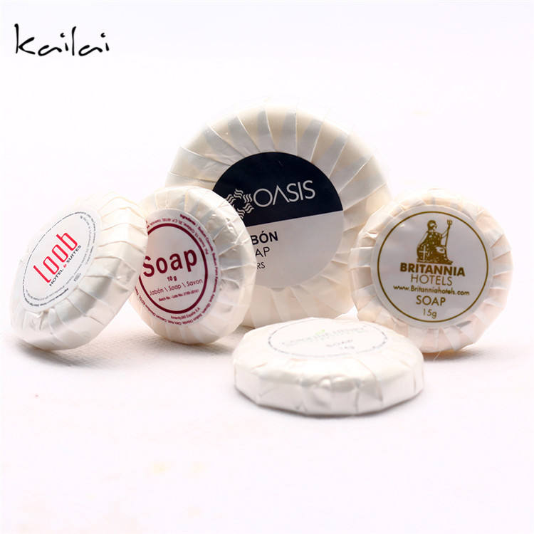 Small Toilet Bar Soap customized logo hotel disposable soap