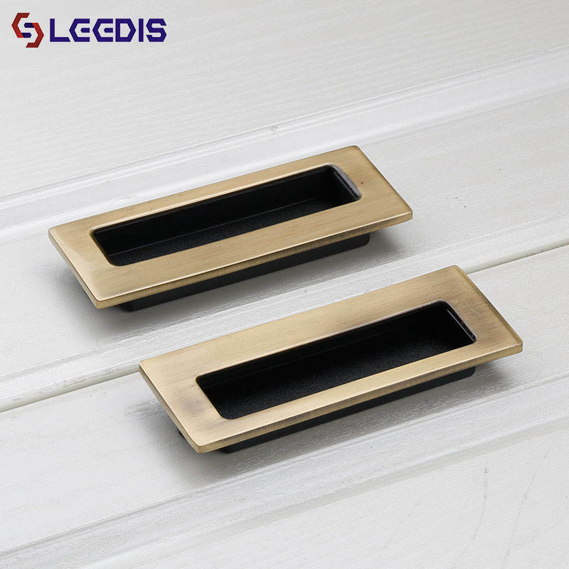 LEEDIS factory direct vintage zinc alloy furniture cabine hidden cabinet handle