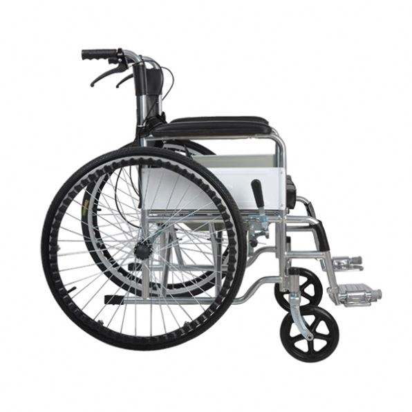 Lightweight Foldable Portable Steel Manual Cheapest Price Wheel Chair