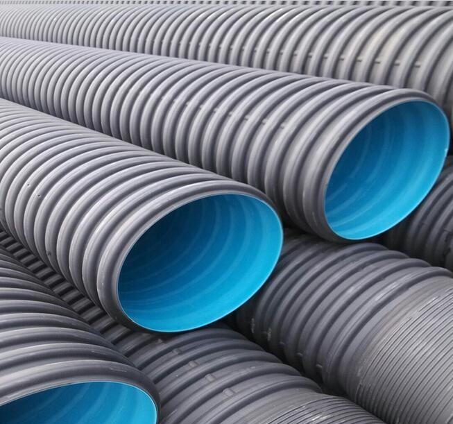 600mm HDPE/ PE Double Wall Corrugated Pipe with high quality