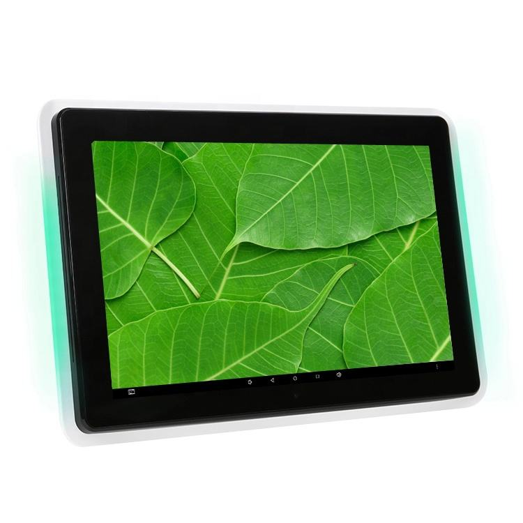 Led Licht bar Wifi RJ45 POE 10 inch Android tablet pc advertenties display voor Conferentie/bijeenkomst/wachtkamer