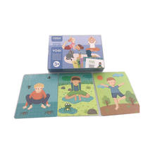 Custom Design Educational  Game Playing Flash  Cards with Gift Box