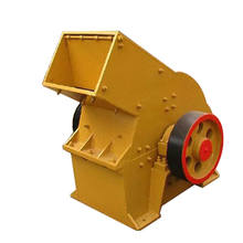 Gold Processing Gypsum Glass Recycled Machine Hammer Crusher West Africa