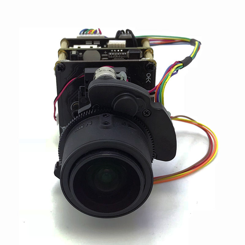 3.6-11mm Motorized 3x Zoom Lens+4K 8MP IP Camera Module Sony starvis IMX274 Hisilicon 3519RFCV101 UHD PCB board SIP-E274KML-3611