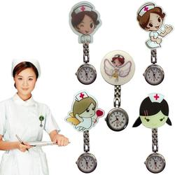 2019 Latest cartoon design girls ladies nurse watches unisex