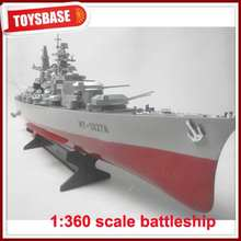 "HT-3827A 1/360 Military 28"" Warship Cruiser radio control RC toy Battleship model"