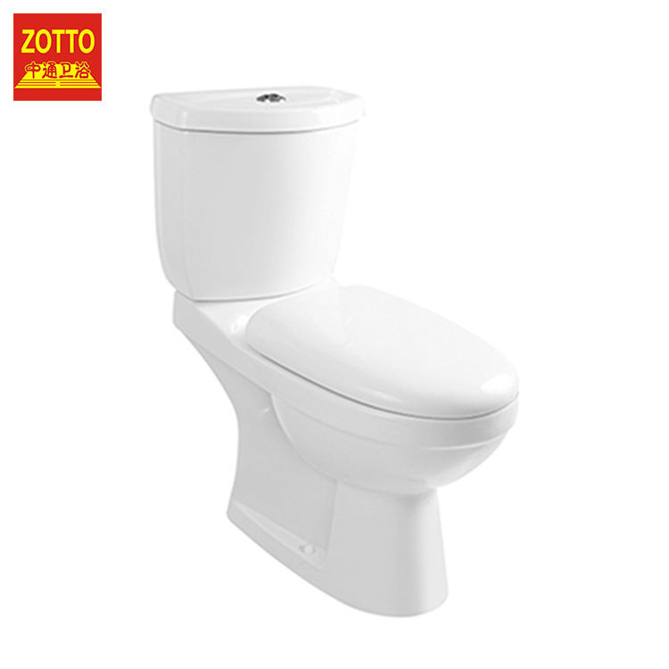 Hot products p-trap s-trap toilets floor mounted two-piece European ceramic washdown two piece toilet