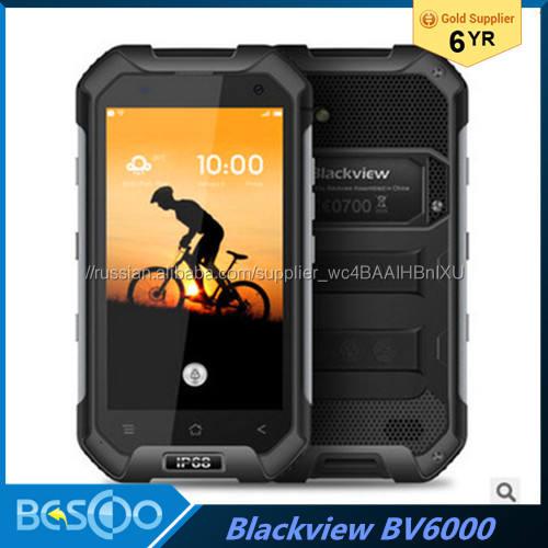 Blackview BV6000 Водонепроницаемый IP68 Мобильный Телефон 4.7'' 1280x720 HD MT6755 Octa Ядро Android 6.0 3gb RAM 32gb ROM 13MP