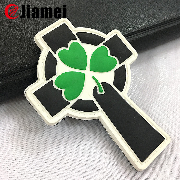Custom Pvc Logo Rubber 3D Raised Stickers