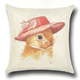 Comfortable cushion cover rabbit pattern wholesale