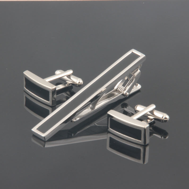 Best quality cufflink and clip set