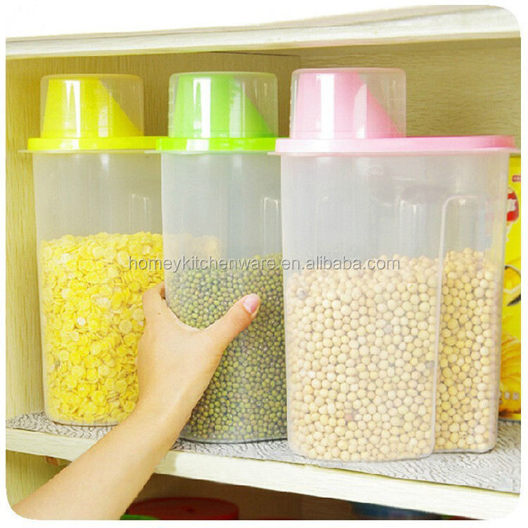 BPA Free Food Drying Plastic Storage Box for kitchen use