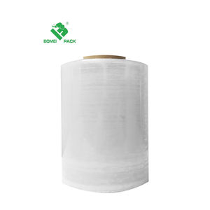 Palette LLDPE Wrapping Film Stretch Film Jumbo Rolle 500mm Dongguan
