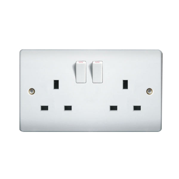 3 Pin UK Mains Plug Top with switch on//off 250V 13A Fused Switched Neon Light