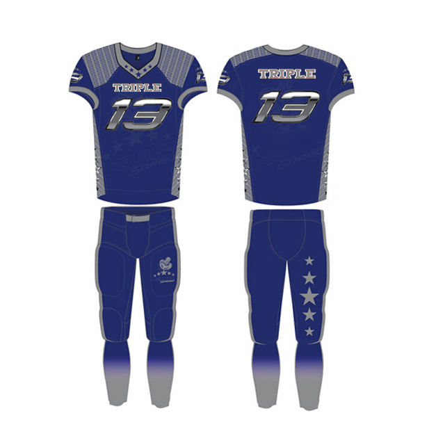 Tackle Twill Football Jersey Tackle Twill American Football Flag Uniforms Jersey And Pants