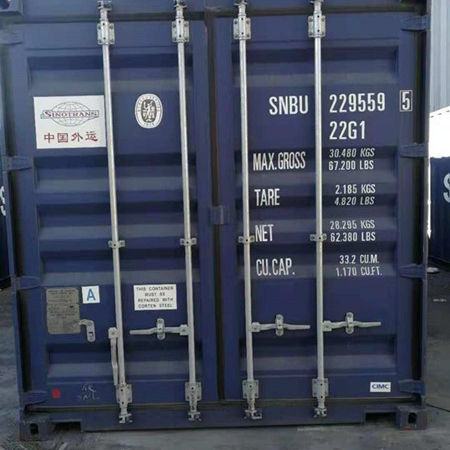 CSC Certification and Dry Container Type Used Cargo worthy Container in Tianjin port