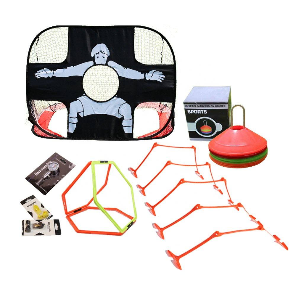 Groothandel Sport training apparatuur Disc Cone set, Voetbal deur Vloer marker set agility hindernis training set