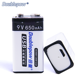China Manufacturer Good Quality 9V 650mah USB Lithium ion Rechargeable Battery