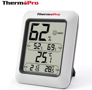 Amazon Top Seller Thermopro TP50 Digital Indoor Thermometer Hygrometer with Comfort Level