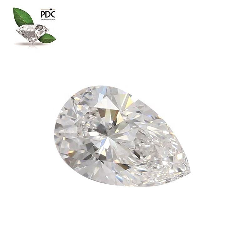 IGI certified Lab grown colorless diamonds 0.5 - 3.99 carat fancy shapes