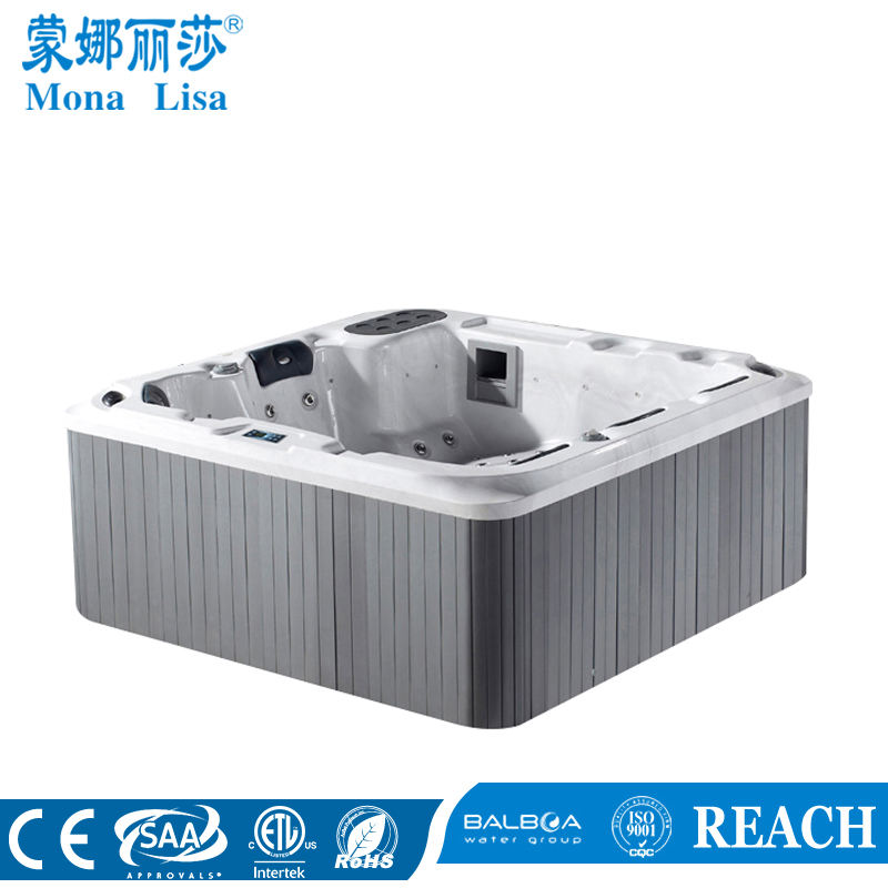 Monalisa Aqua Hydro Aroma Air Jets Spa Whirlpool Massage <span class=keywords><strong>Bad</strong></span> (M-3357)