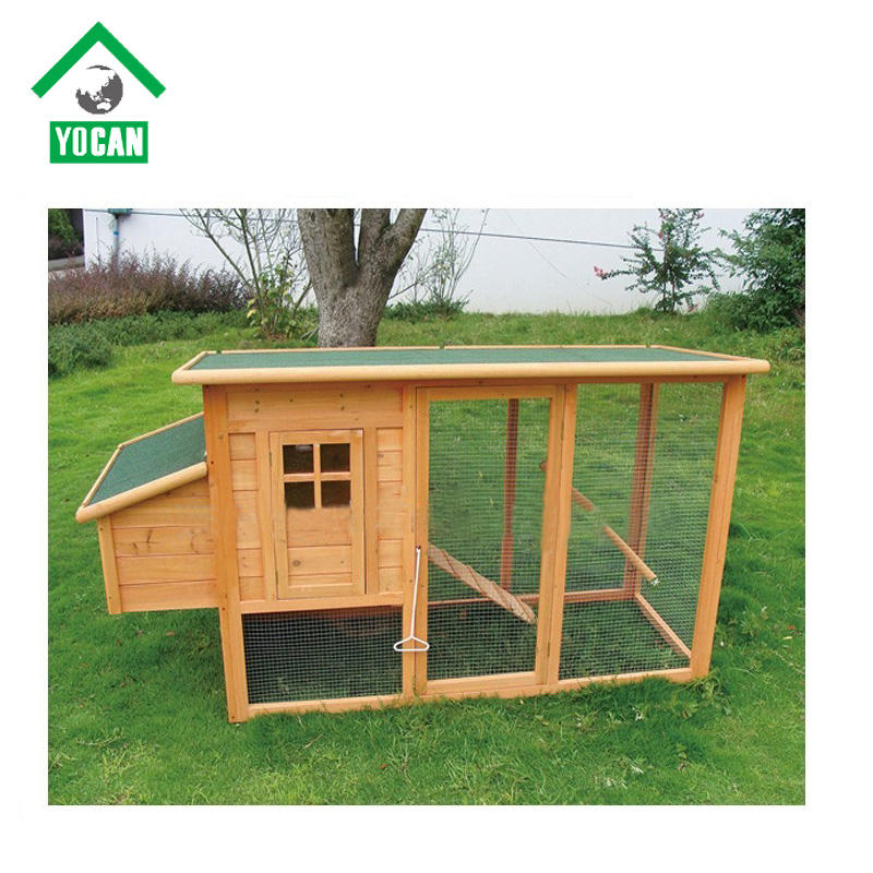 China Supplier Wooden Chicken House Cage