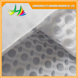 HH-007 cheap Big hole polyester air suitcase breathable factory direct mesh fabric for shoes used shoes