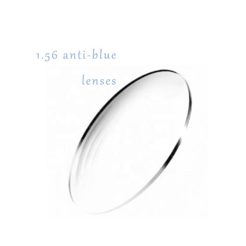 1.56 Photochromic Lensa Kaca UC/HMC EMI/HC Cr39 55 Mm Single Vision Lensa Optik