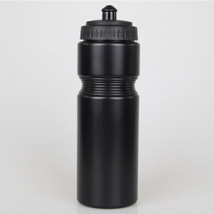 750ML Skid Resistance Sport Squeeze Plastic Hiking Water Bottle