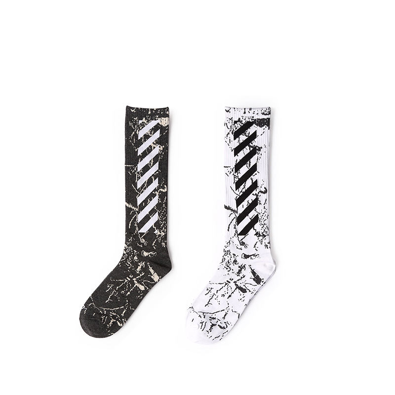 BONYPONY Custom Fashion Brand Cotton Athletic Sports Crew Socks Basketball Soccer Skateboard Hiking Ski Outdoor Calf High Socks