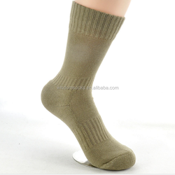 High quality cushioned sole navy blue black police men army socks