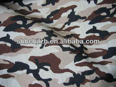 camouflage cotton jersey fabric