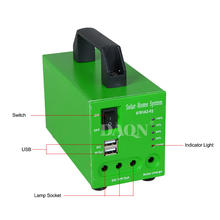 Factory price mini home use 1kw portable solar power inverter energy lighting systems