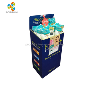 Groothandel Promotionele Carton Merchandise Tablet Display Karton Apotheek Dump Bin