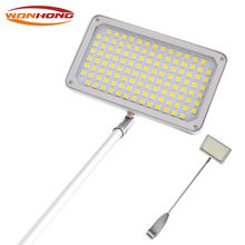 Pop-up clip exhibition arm lamp led banner display light LED116