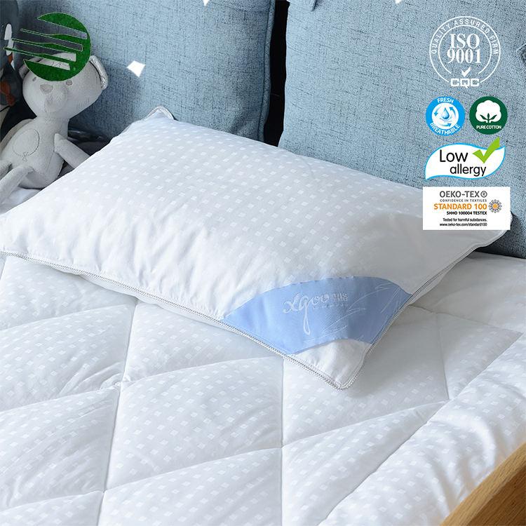 تخصيص نوع تتجاوز أسفل البوليستر الاطفال الرأس النوم وسادة