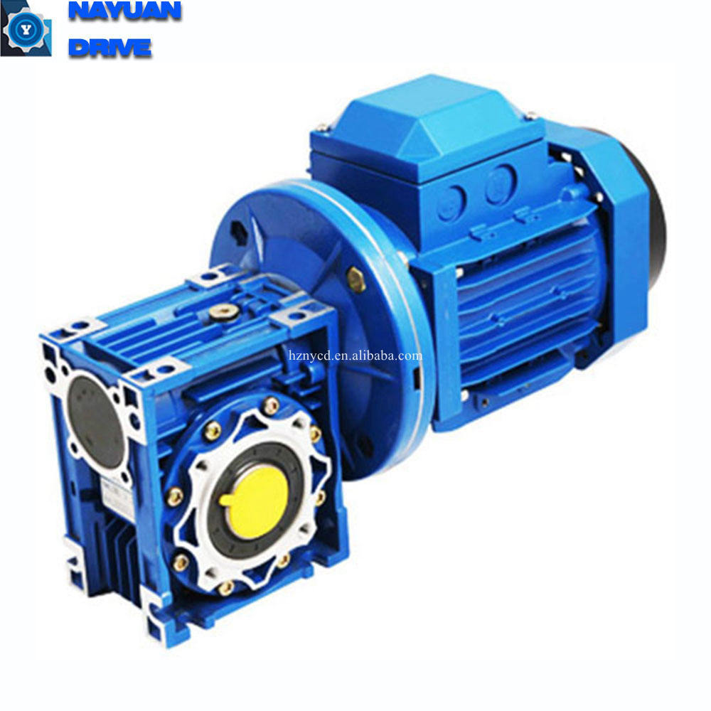 RV type speed reducer for electric motors