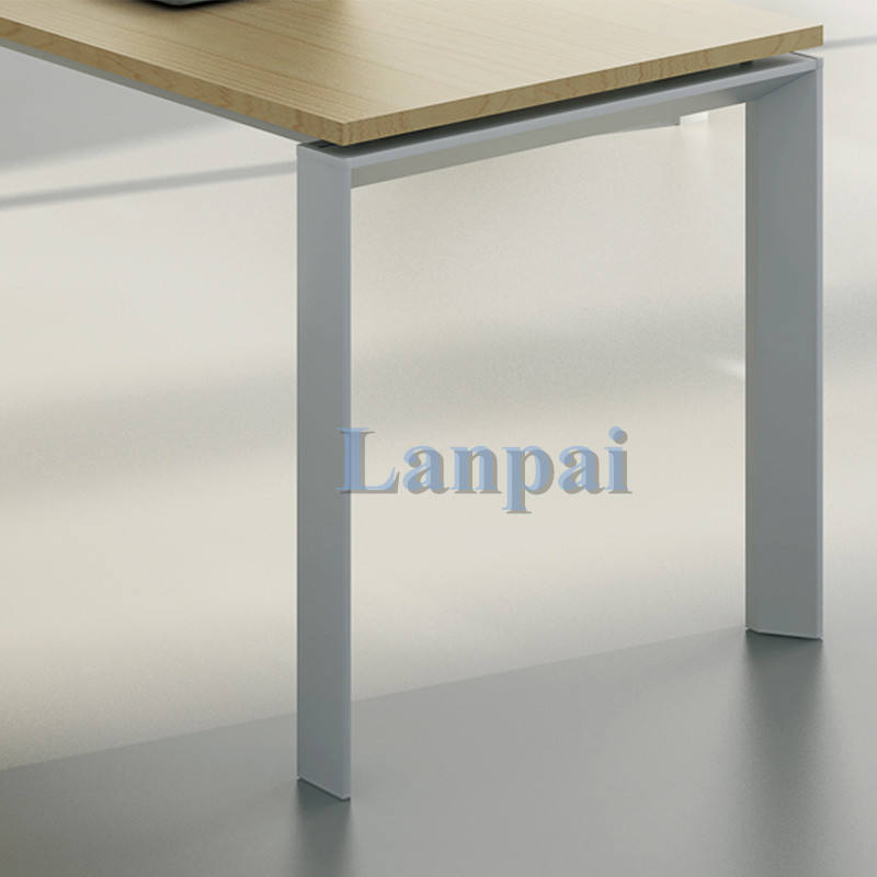 Modern Style ergonomic 4 feet office table in different color desktop