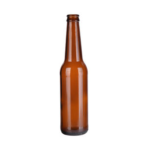 amber 330ml glass beer bottles