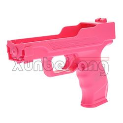 Light Gun Pistol for Wii Remote Controller Model CWI246 Pink